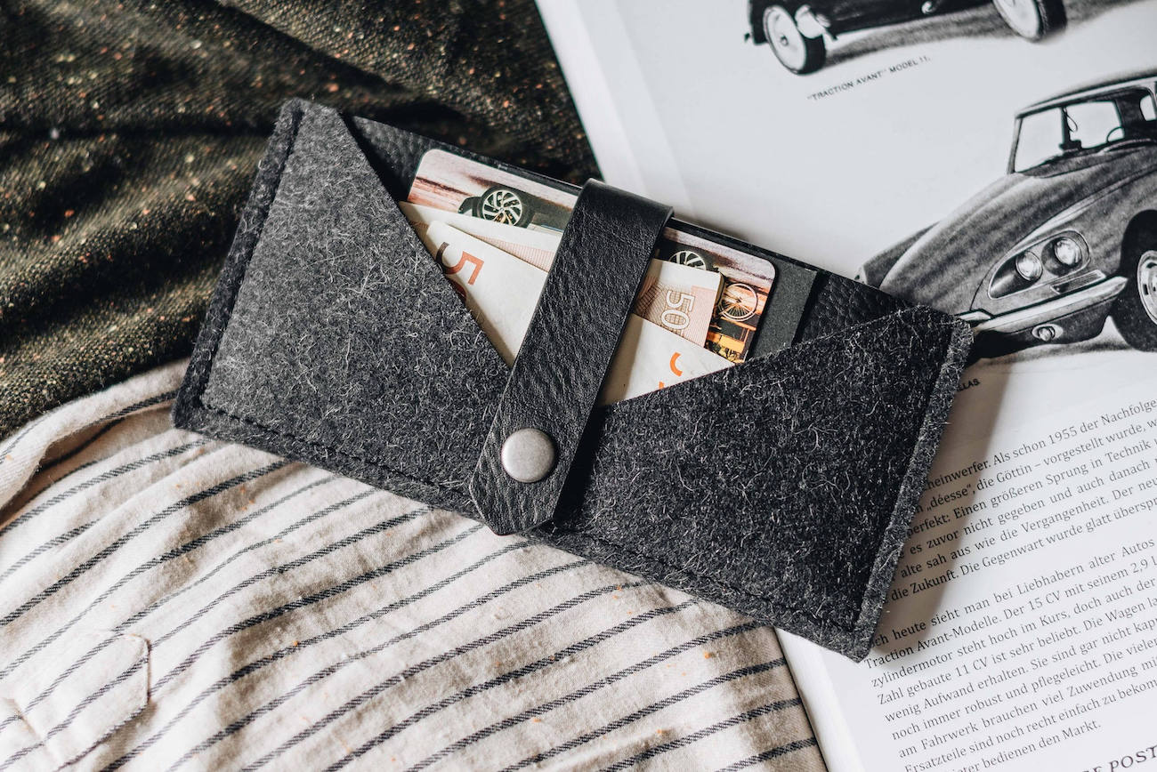 band&roll Handmade iPhone X Wallet