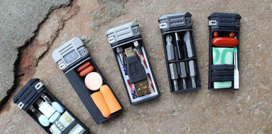 Compact Storage and Driver Multitool
