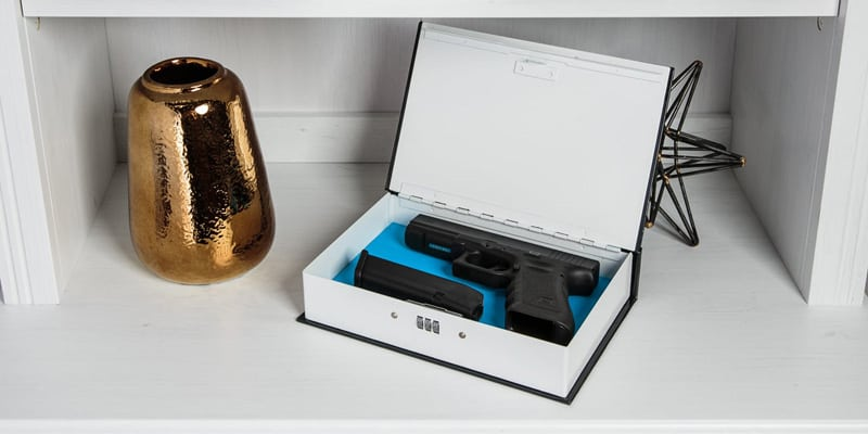 Keep your gun safely hidden with the Lock It Up Box