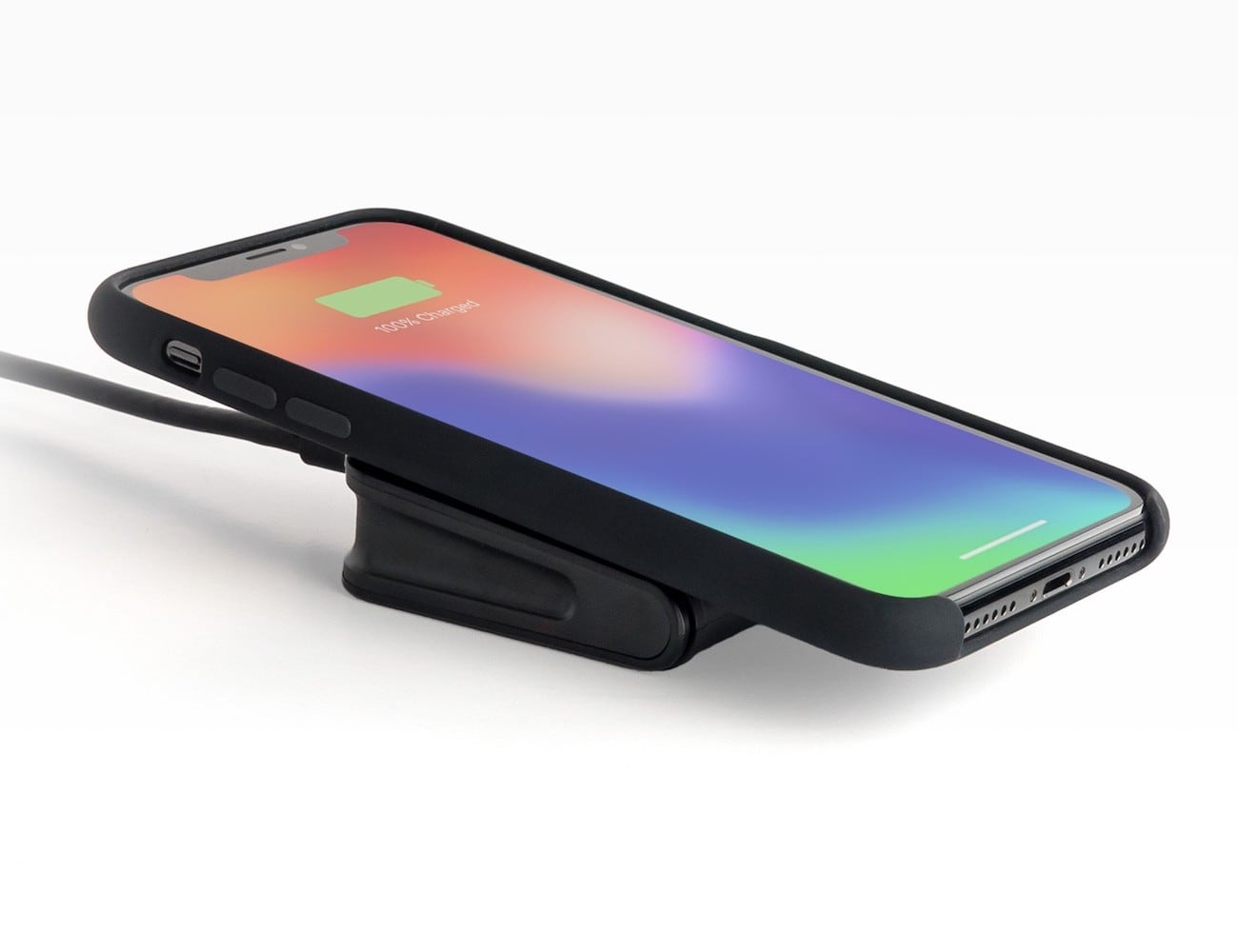 differently bbdfd b80d2 mophie charge stream pad mini Qi Wireless Charger starts charging your  phone immediately