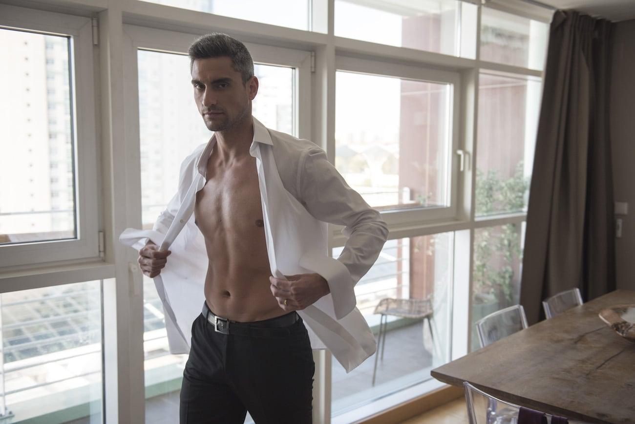 Ambassador Portugal Men's Nanotechnology Cotton Shirt