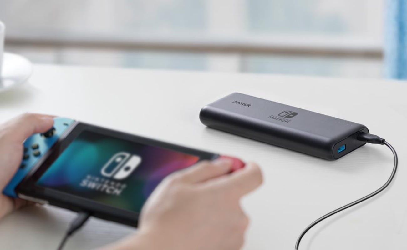Anker PowerCore 20100 Nintendo Switch Compact Charger