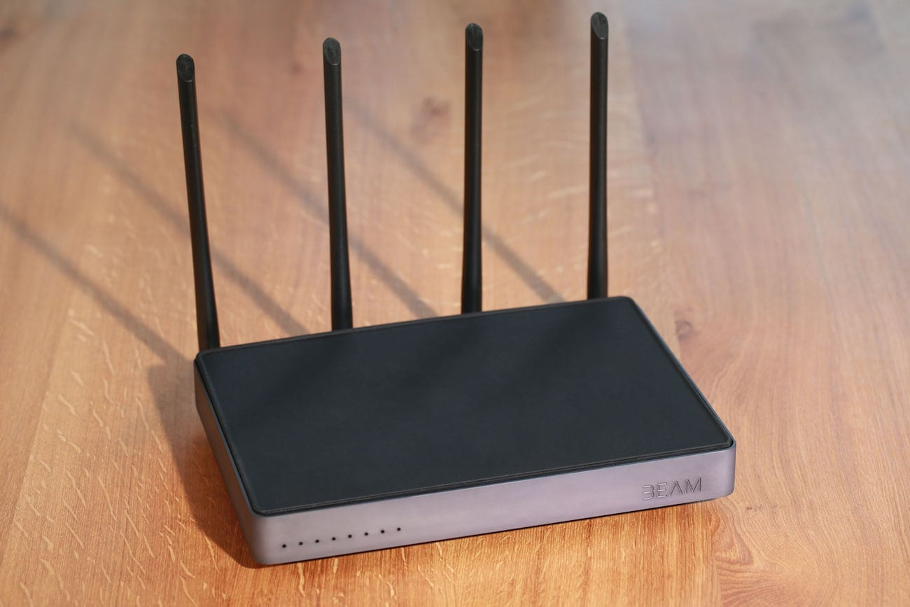 Beam is the router that will protect your online privacy