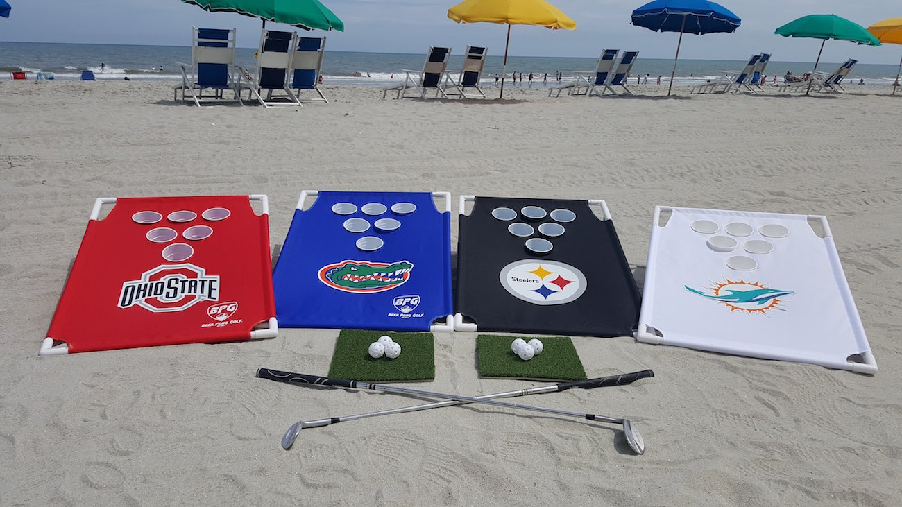 Beer Pong Golf Travel Edition Drinking Game