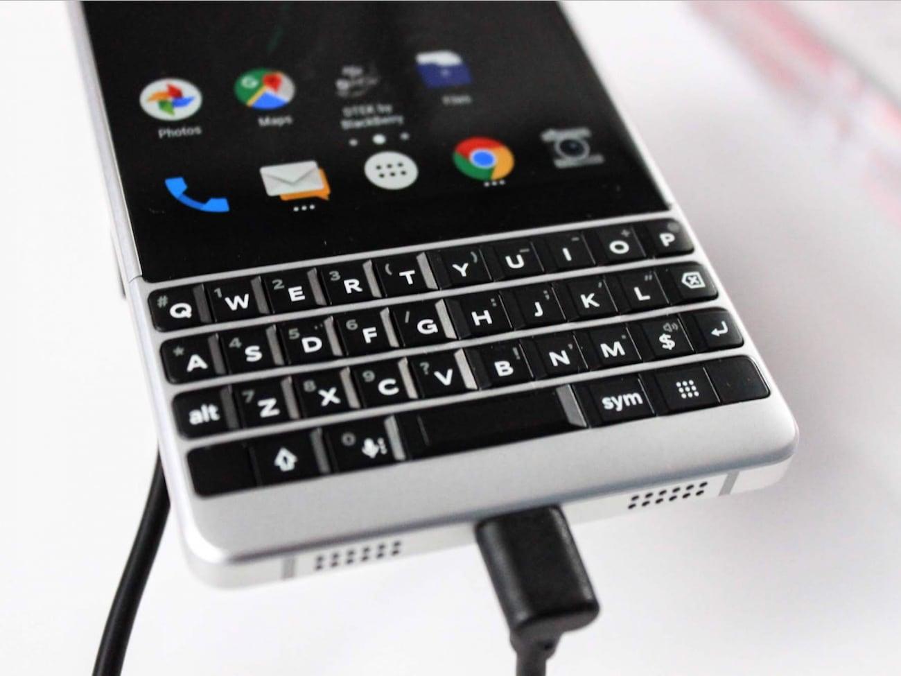 BlackBerry Key2 Intelligent Keyboard Smartphone