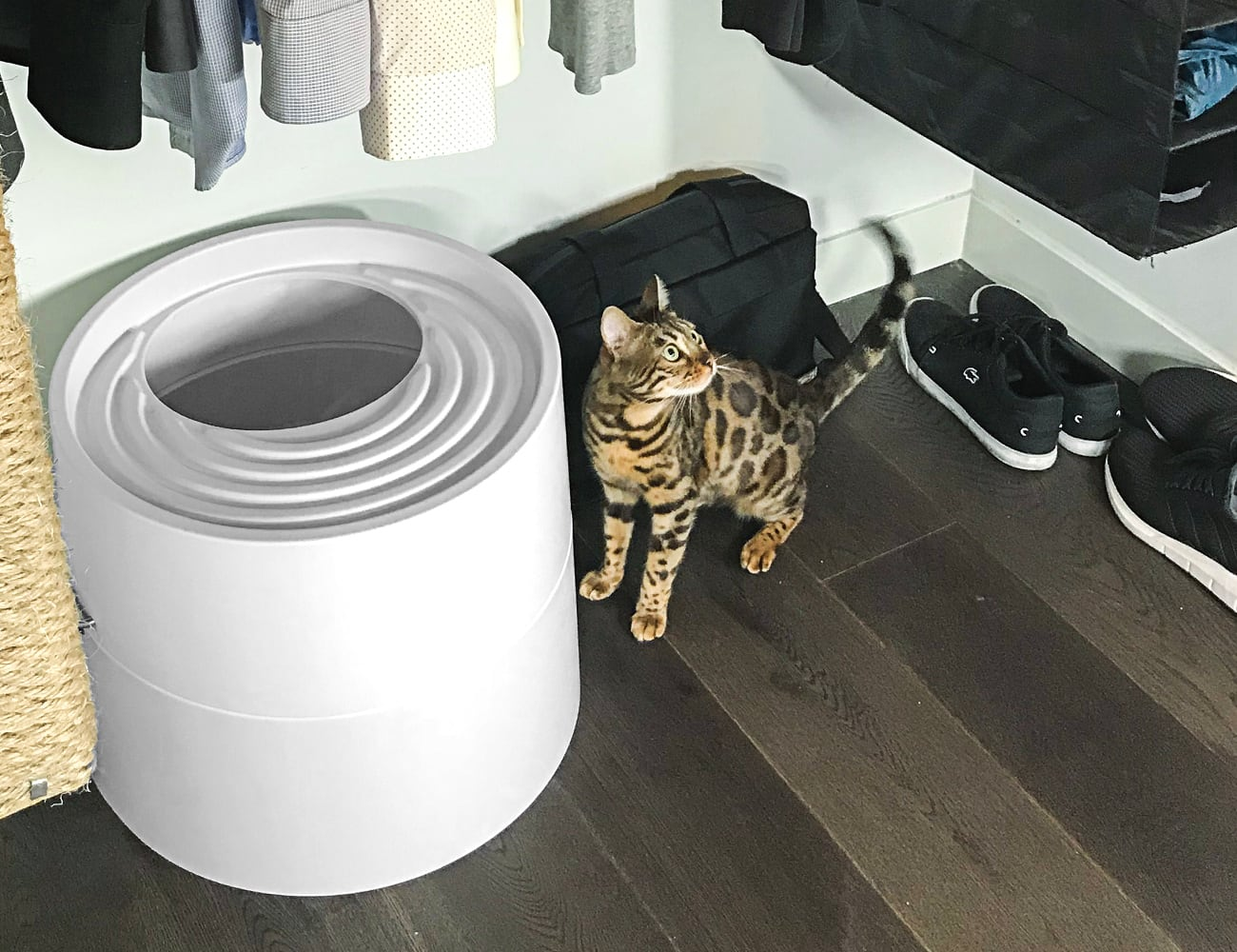 Boxscoop 6-Second Litter Box