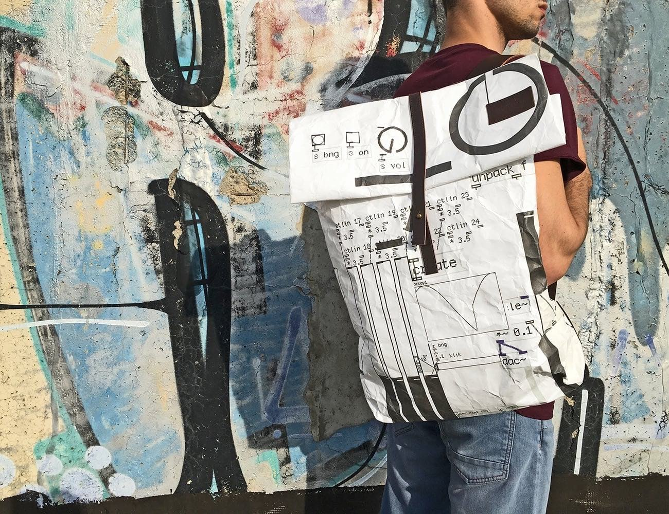 Crazy-light Collaborative Art Bags by Stiglo