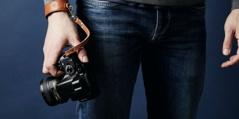 Adjustable DSLR wrist strap