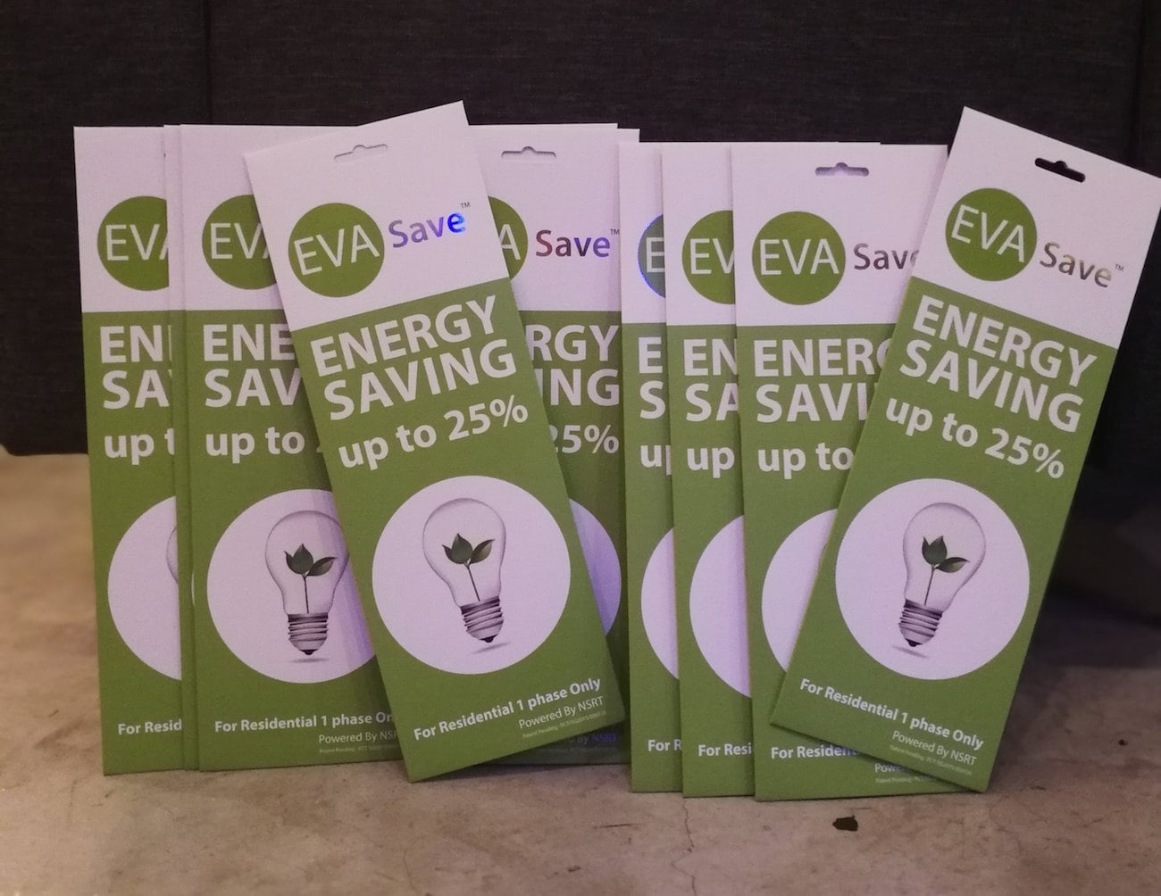 EVASave Electricity Saving Sticker