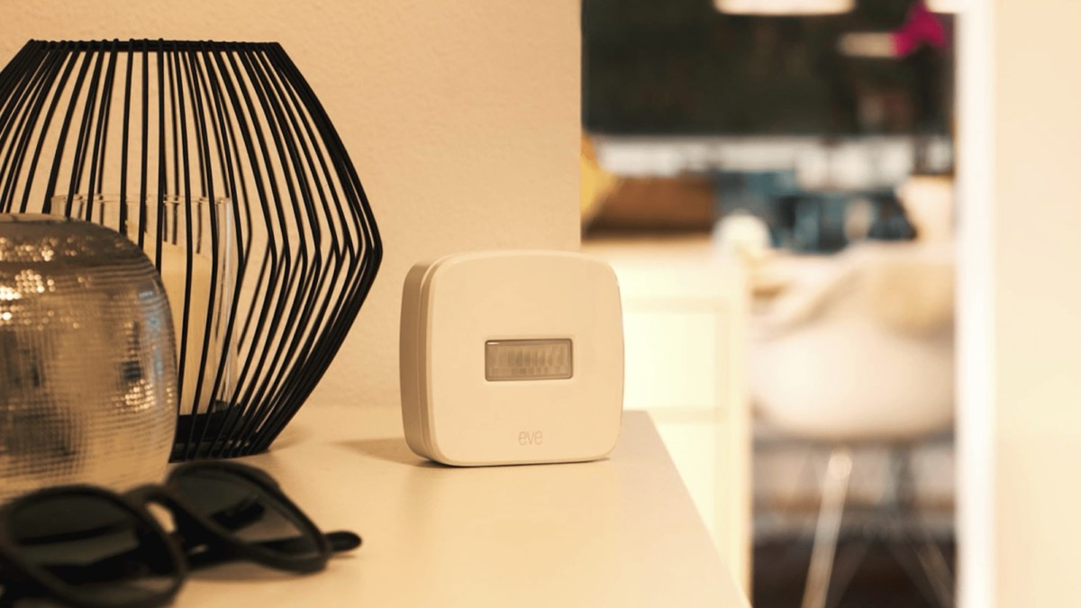 Eve Motion Wireless Movement Sensor has a 120º field of view