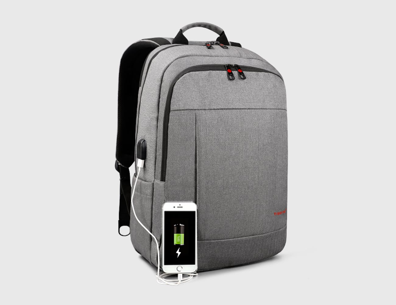 External USB Charging Everyday Backpack