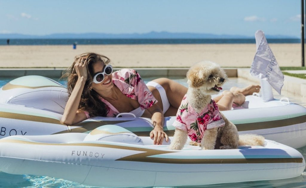 FUNBOY+x+Bark+Yacht+Dog+Pool+Float