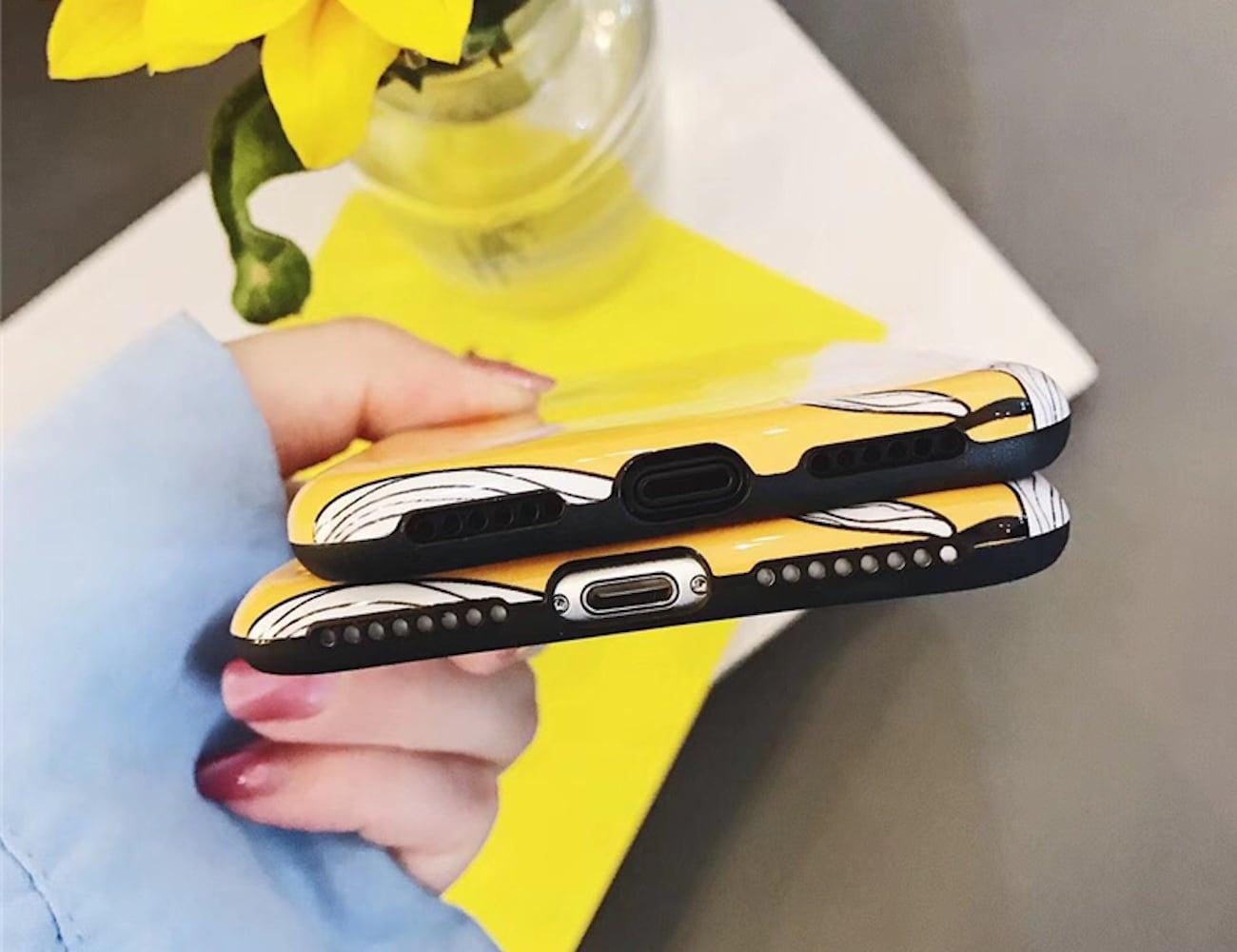 Floral Painted Petals iPhone Case