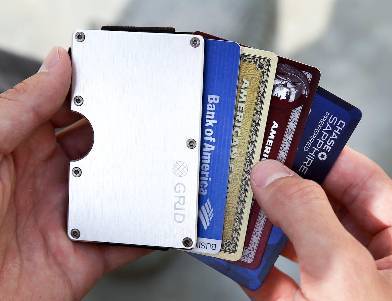 GRID Slim Carbon Fiber Wallet
