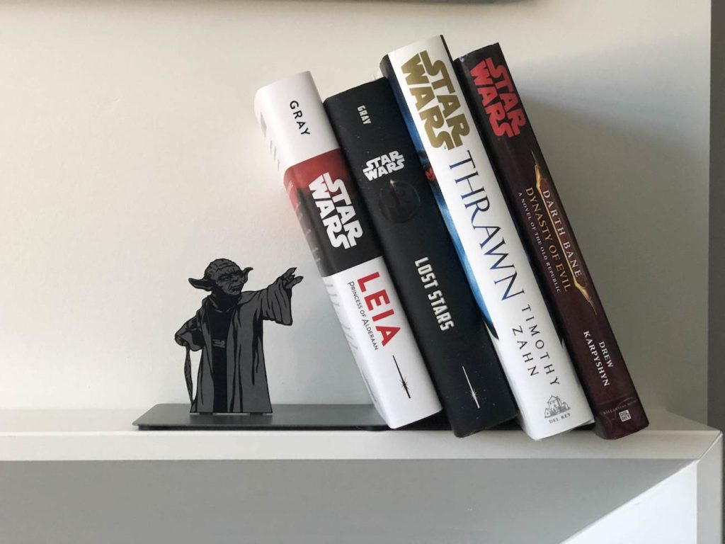 Hallmark+Star+Wars+Yoda+Metal+Bookend