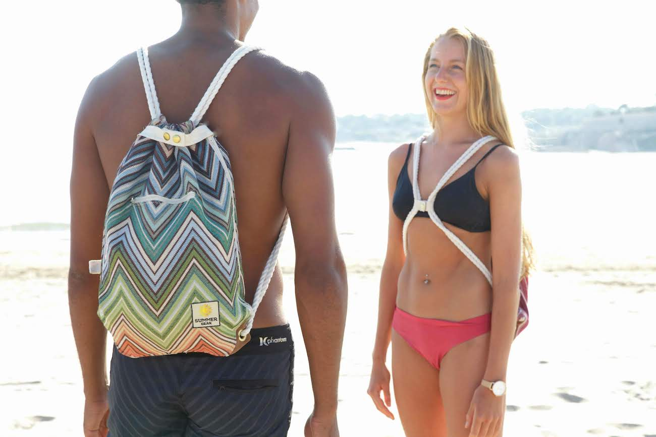 Ibora Detachable Blanket Beach Bag