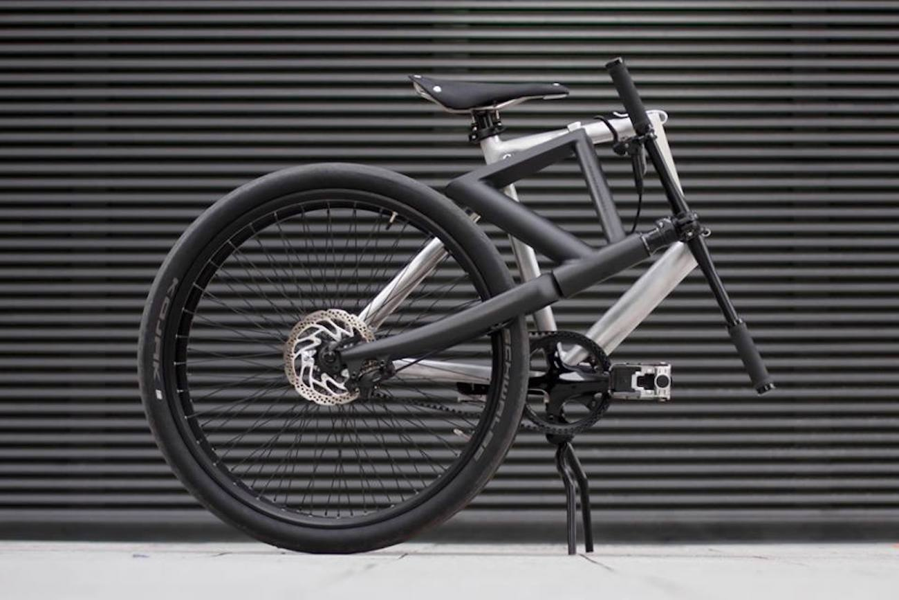 Kruschhausen Cycles Fiiz Full-Size Folding Bicycle