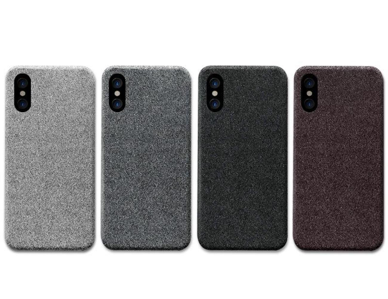 Kwik Charger Cloth Texture iPhone Case