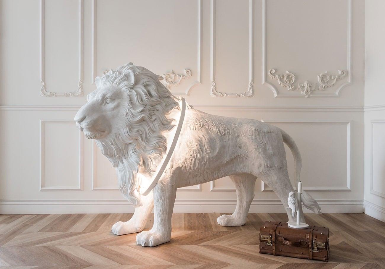 Lion X Life Size Floor Light