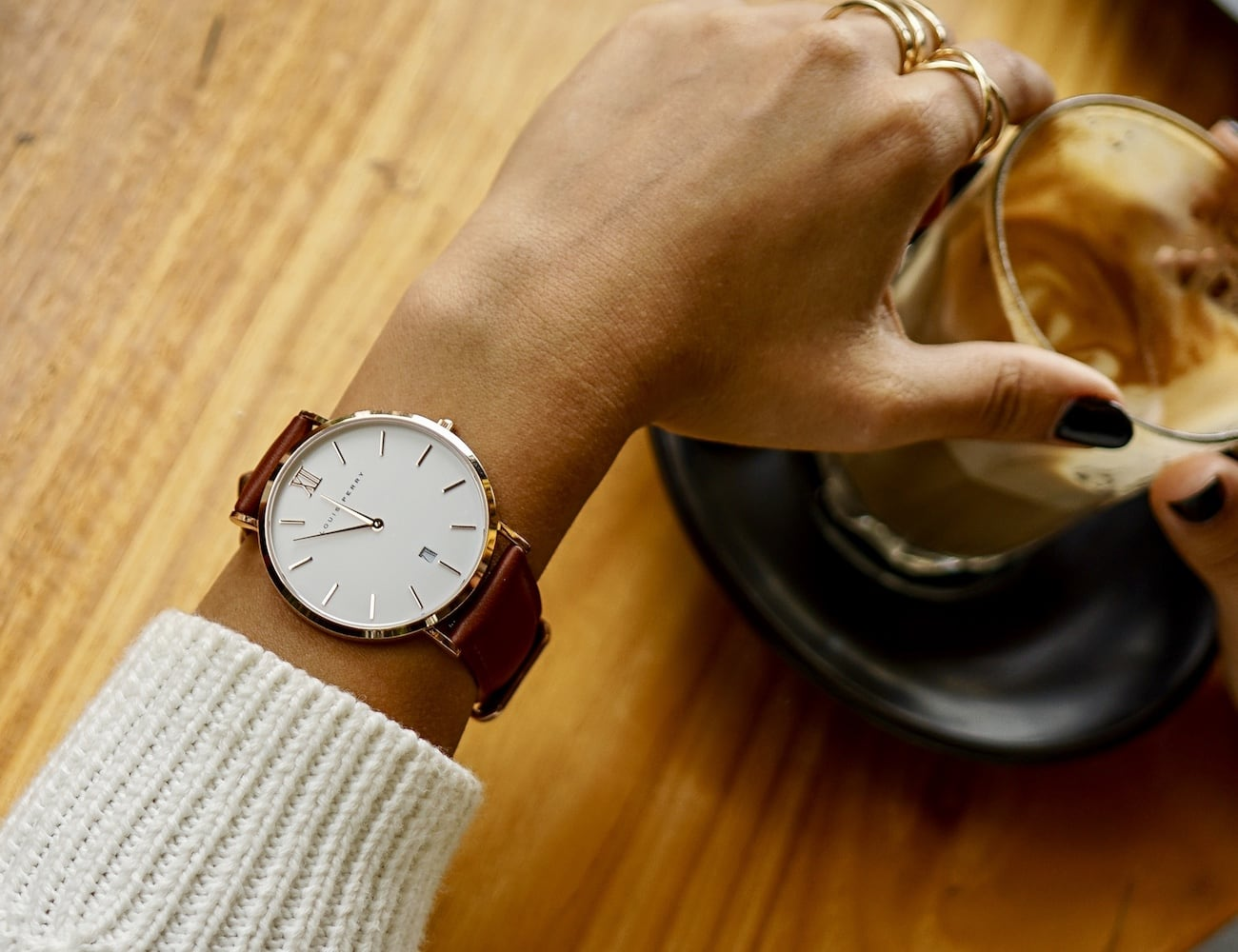 Louis Perry Minimalist Swiss Movement Watches