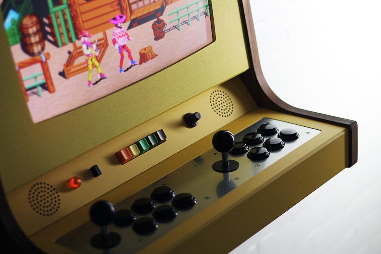 Love Hulten OriginX Retro Arcade Cabinet