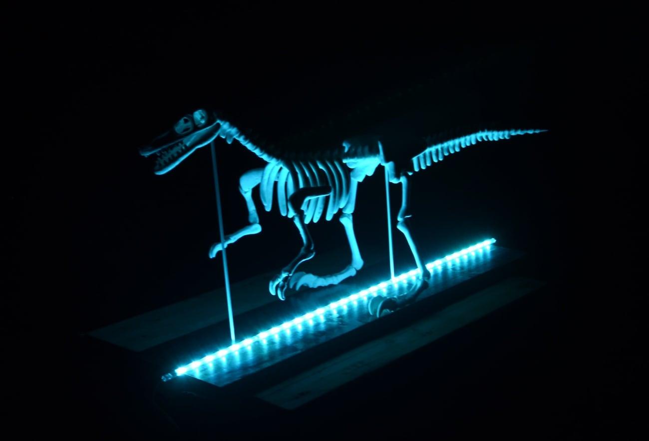 Lumesaur Multi-Color LED Dinosaur Skeleton