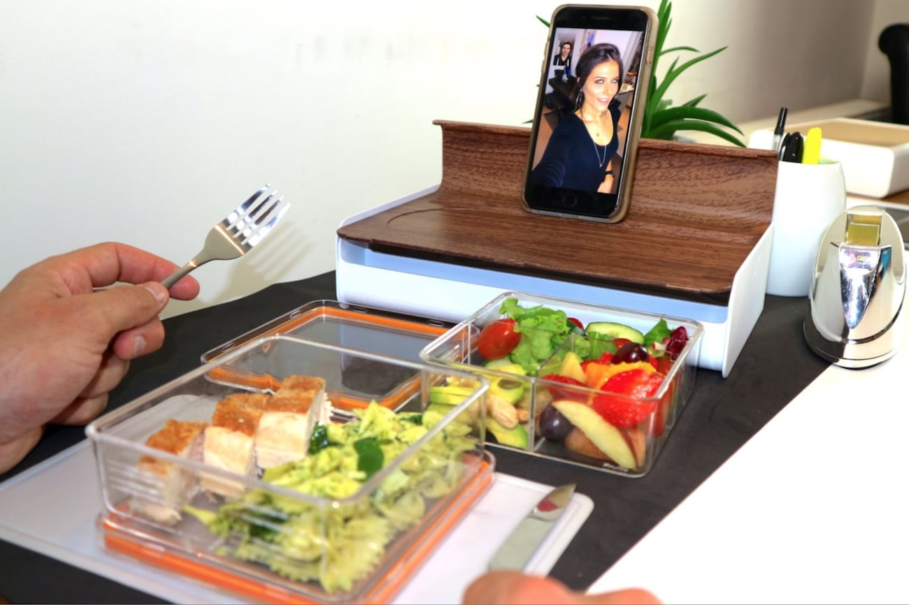 Lunchkitt – Nutritional Guided Lunchbox With Device Holder