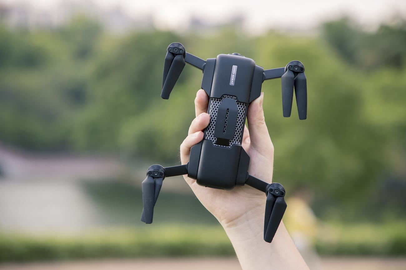 Mark – The Ultra-Intelligent 4K Foldable Drone
