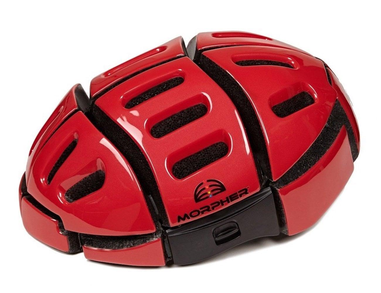 Morpher Flat Folding Bicycle Helmet
