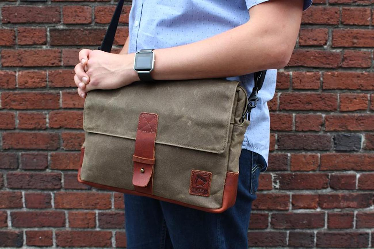 NutSac Satchel Pro Men's Messenger Bag
