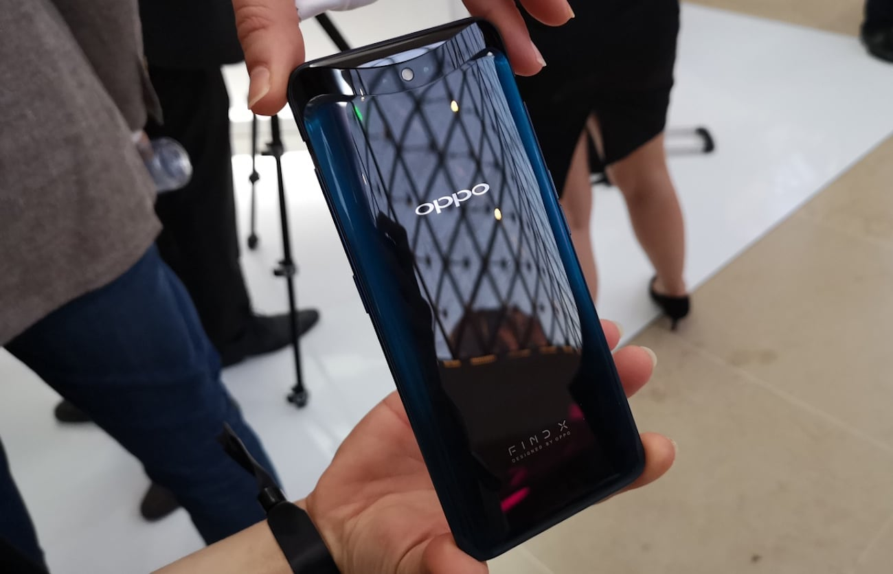 OPPO Find X Panoramic Arc Screen Smartphone