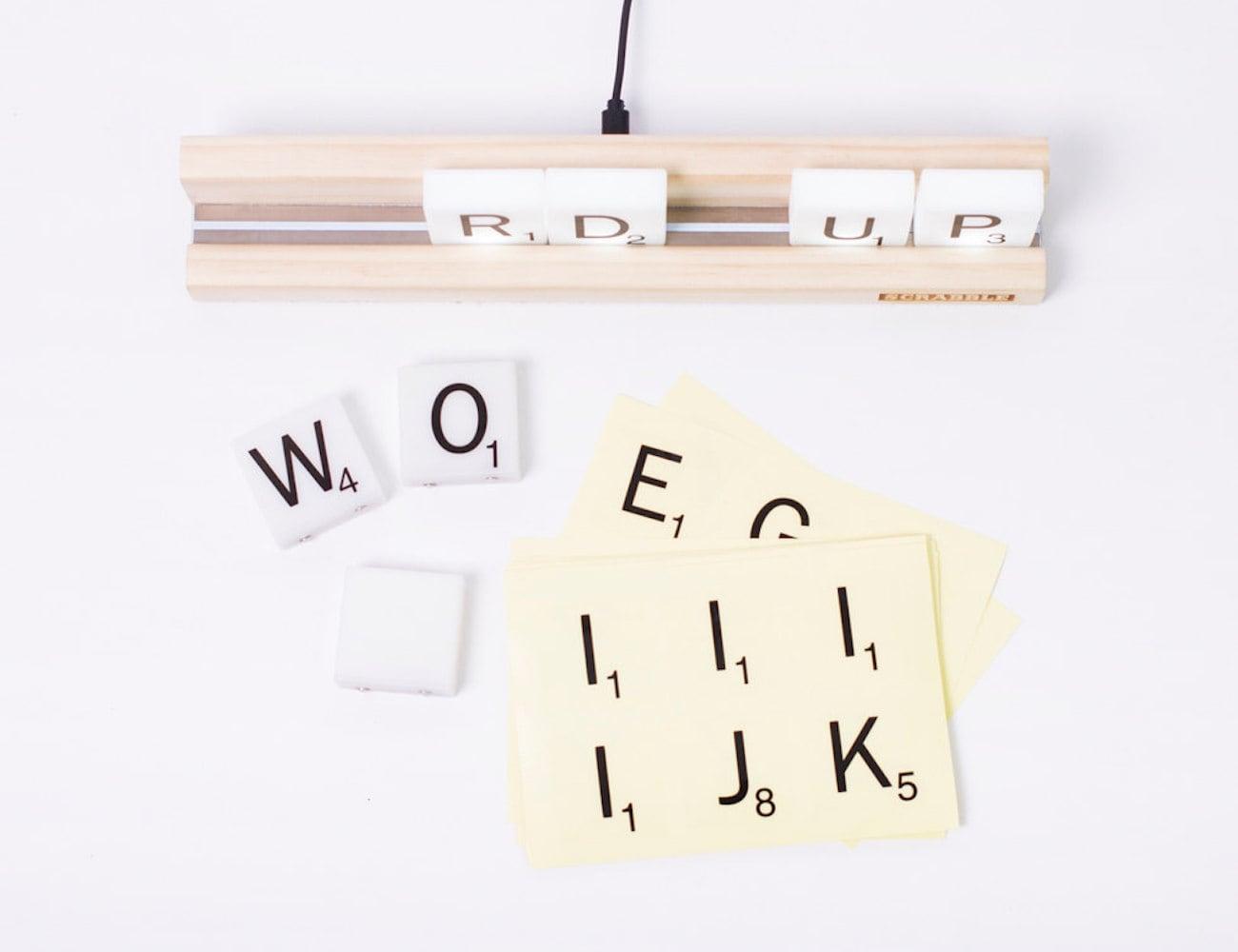 Official Scrabble Tile Lights