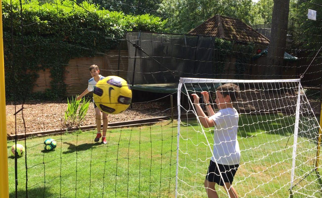 Open Goaaal Soccer Goal Rebounder
