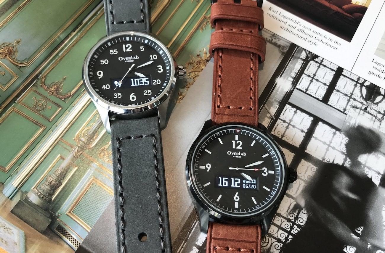 OverLab Voxel Stylish Hybrid Smartwatch