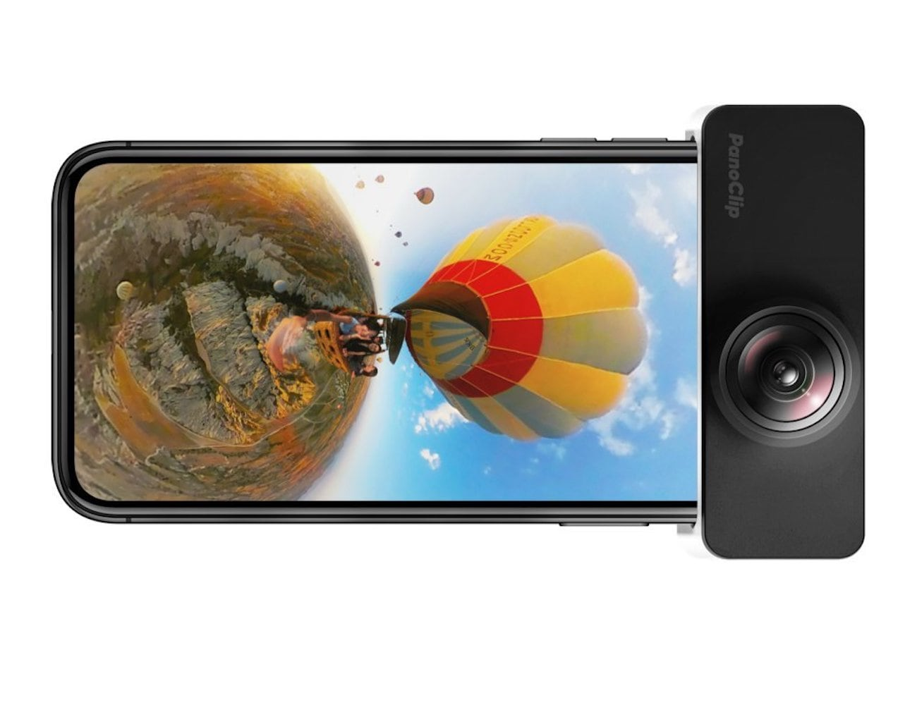 PanoClip Snap-On 360-Degree iPhone Lens