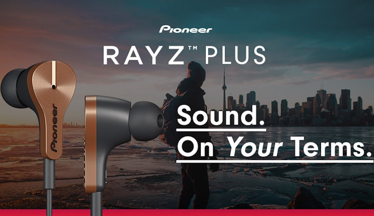 "Pioneer ""Rayz"" Smart Earphones"