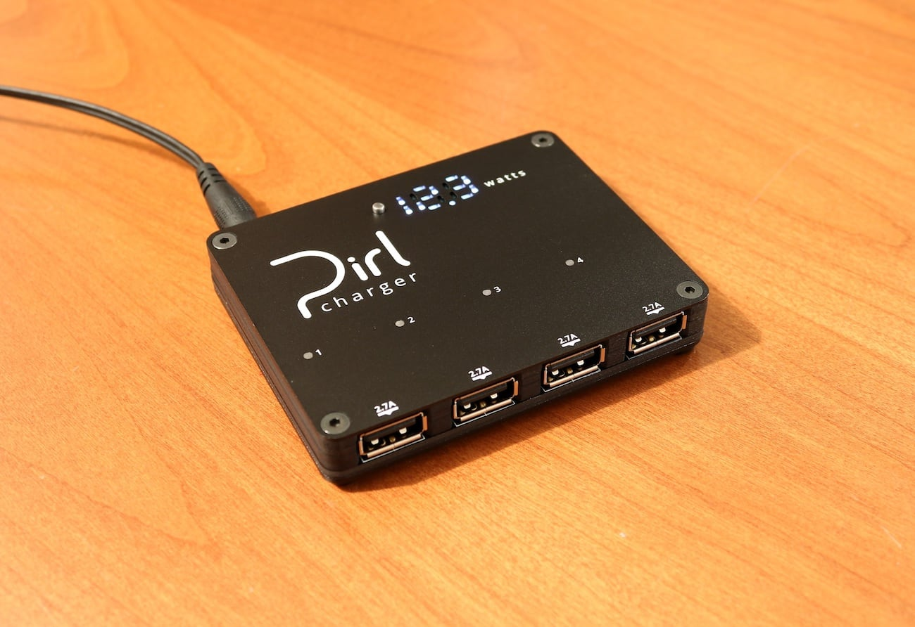 Pirl Four Port Charger
