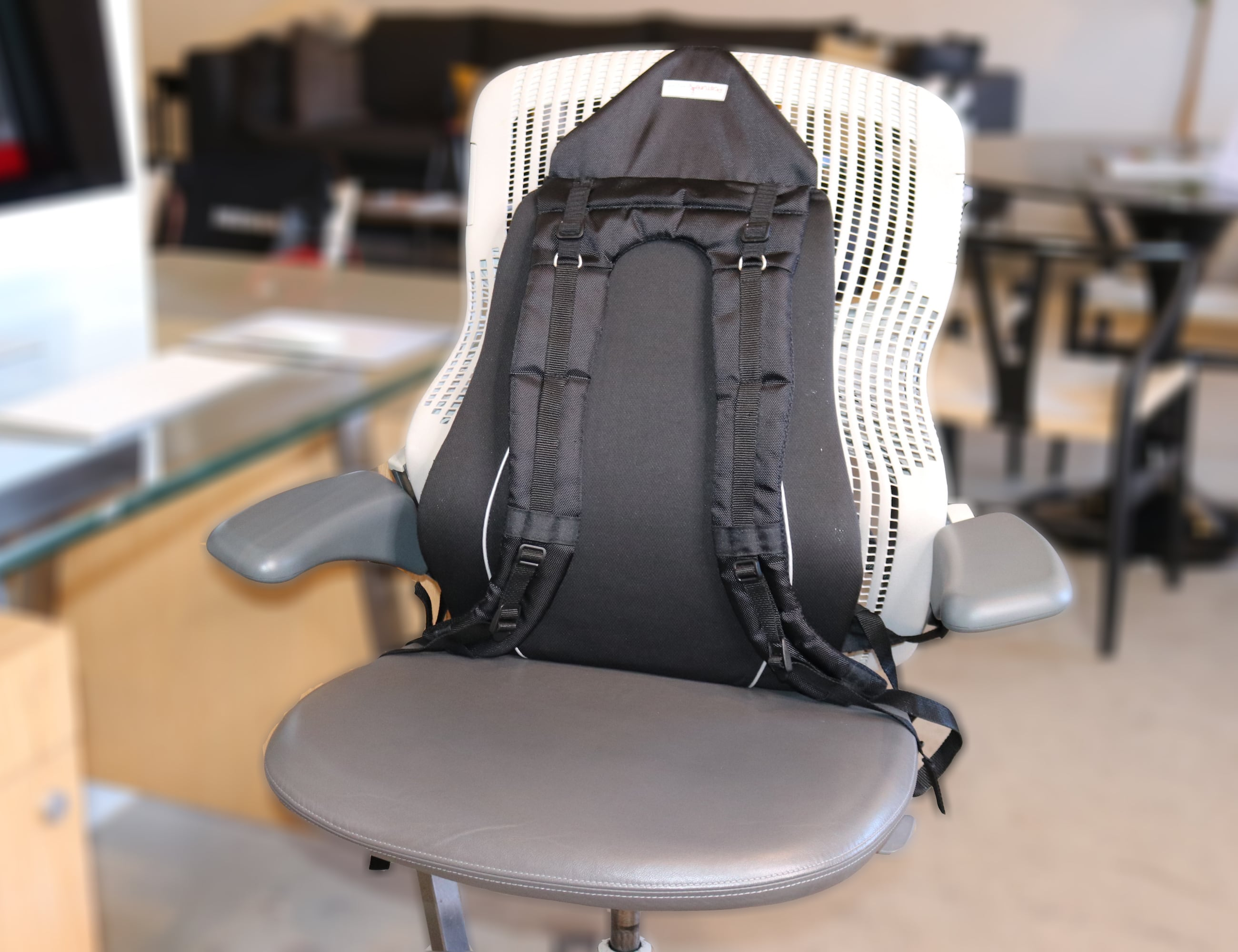 Posture Keeper Wearable Lumbar Support System