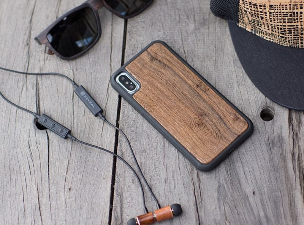 Reveal+Wood+iPhone+X+Case