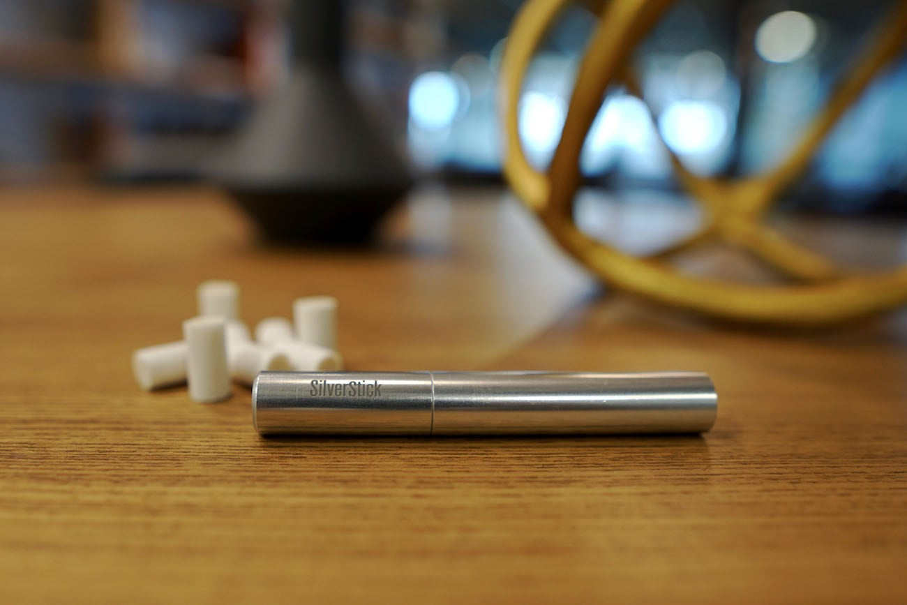 SilverStick Oversized One Hitter Pipe