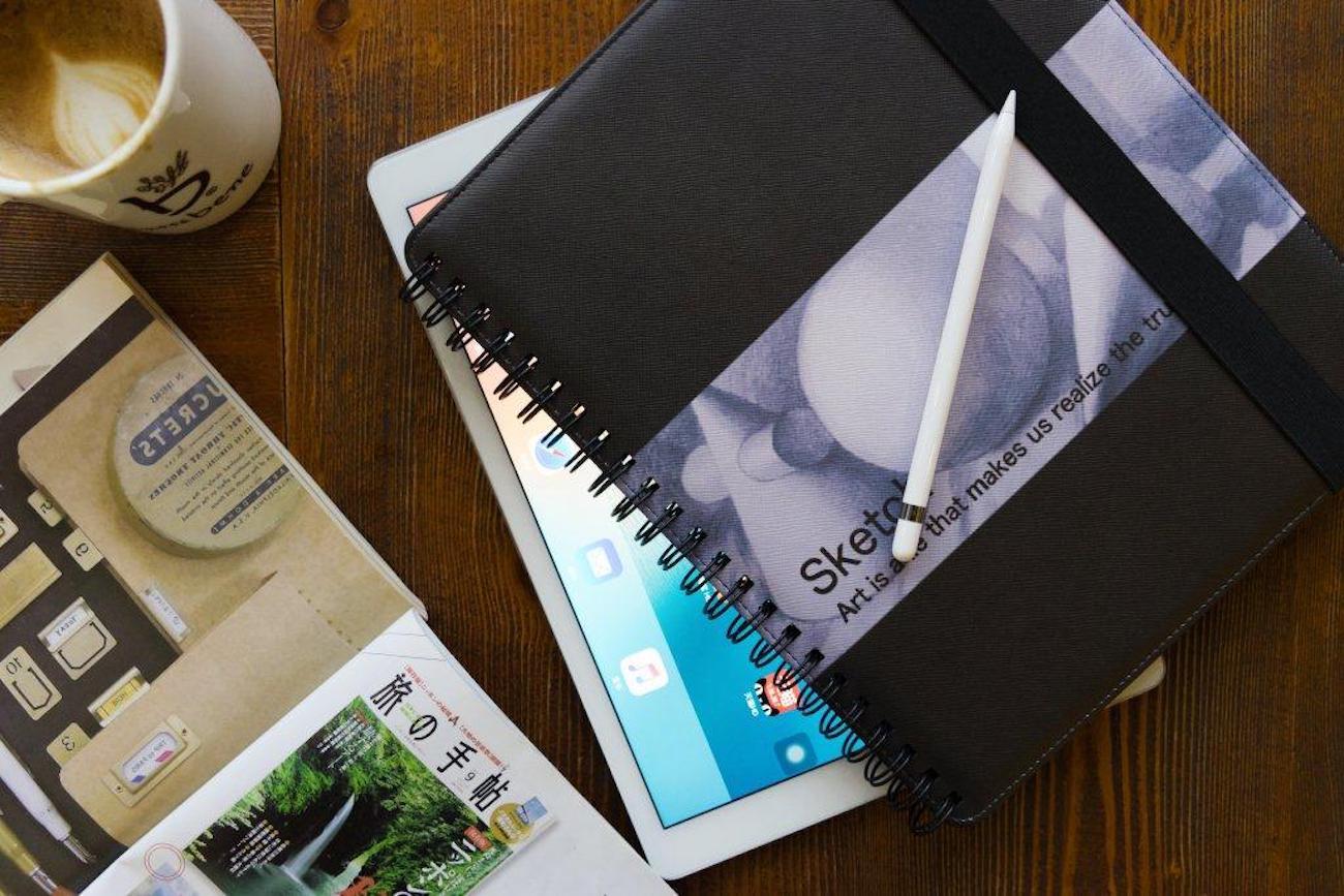 Sketchbook Wirebound iPad Pro Case