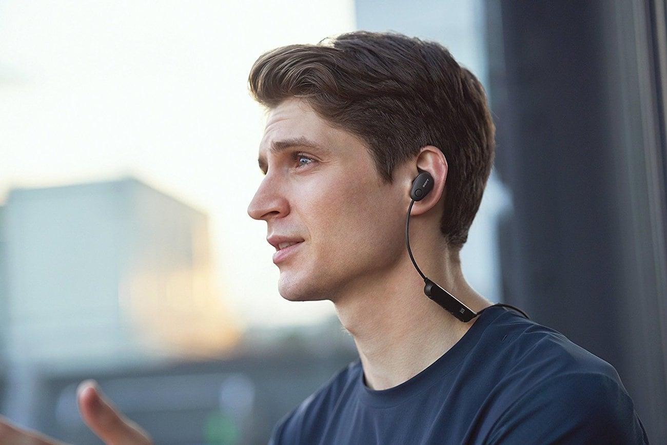 Sony Wireless In-Ear Noise Canceling Sports Headphones