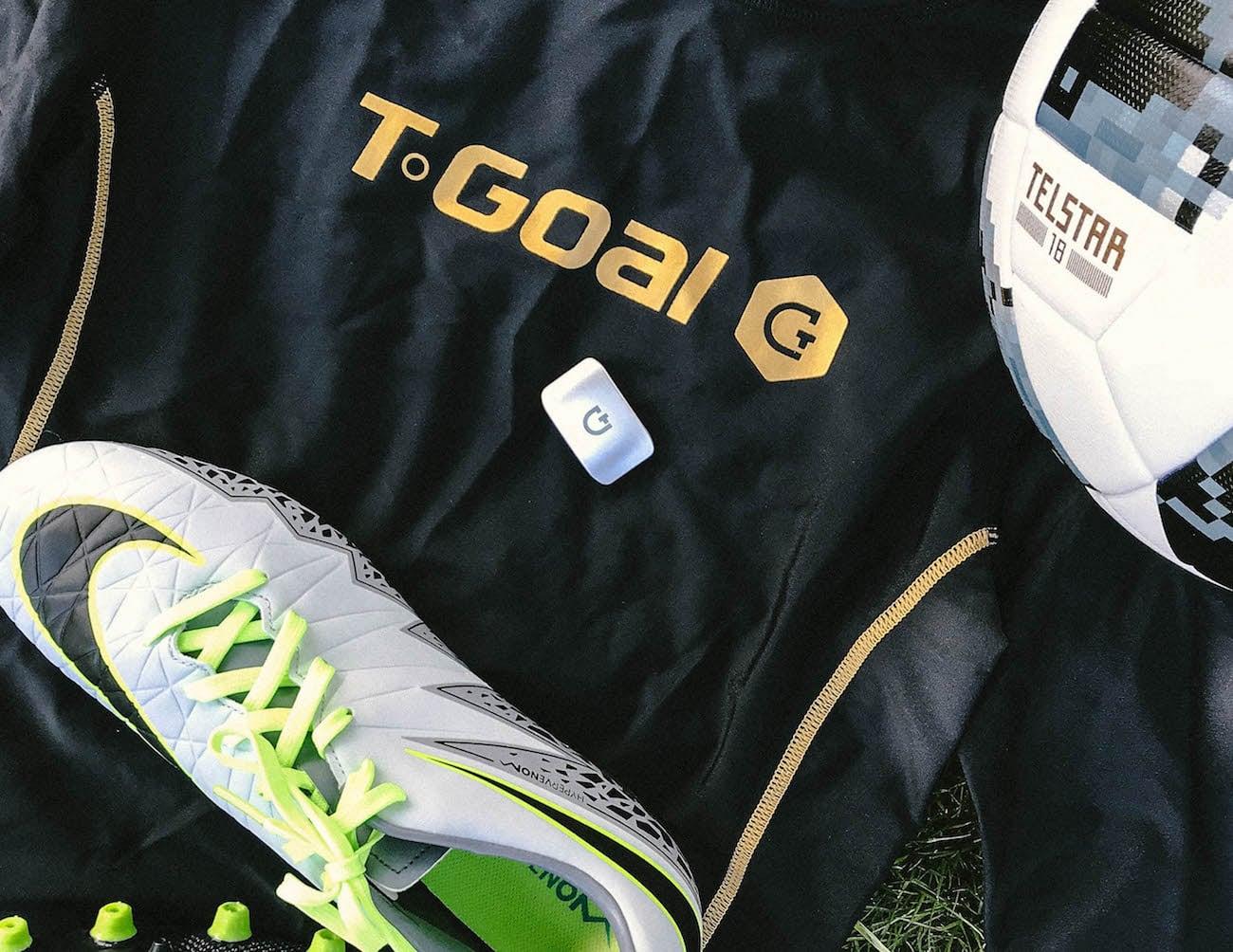 T-Goal Wearable Soccer Data Tracker