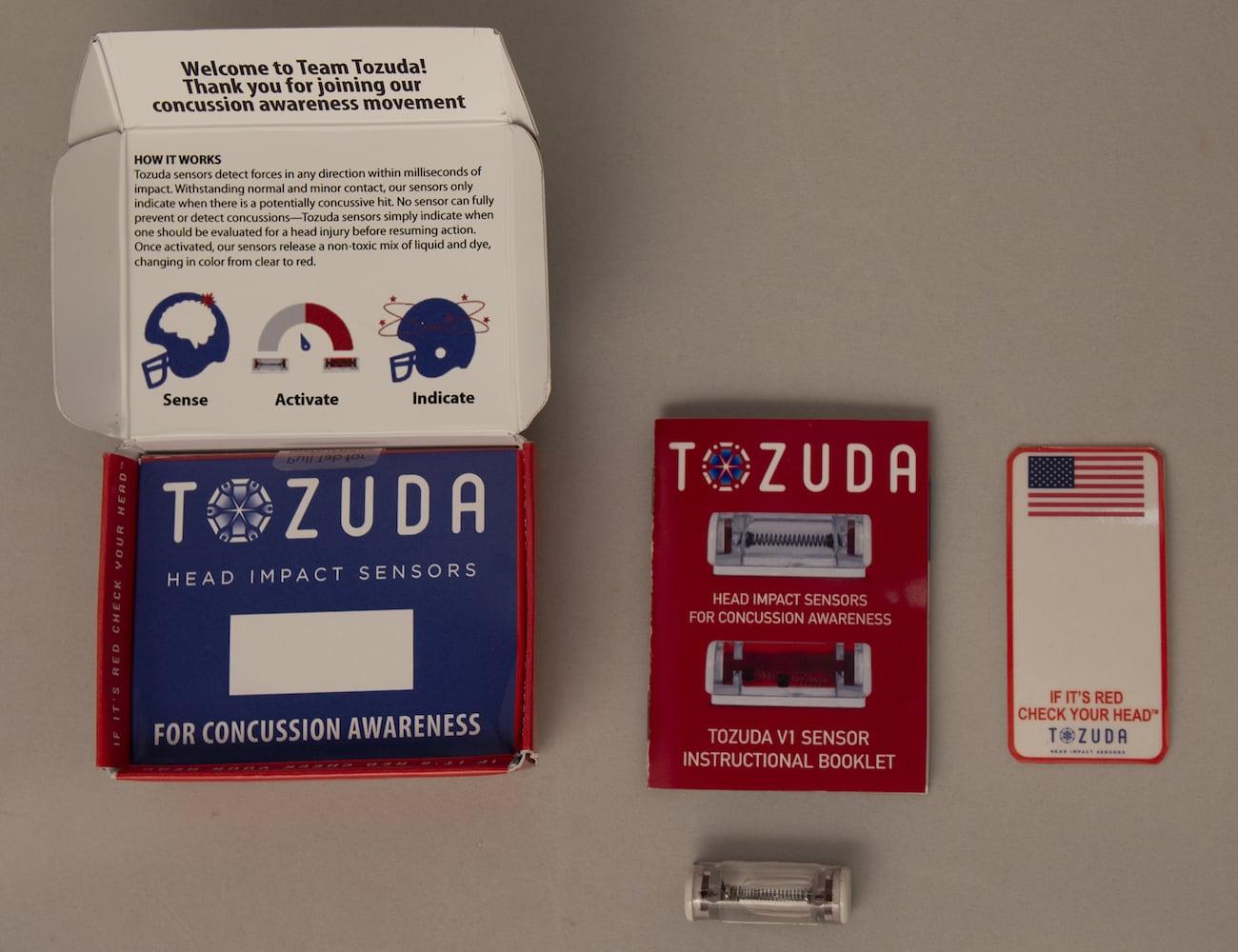 Tozuda Head Impact Sensor