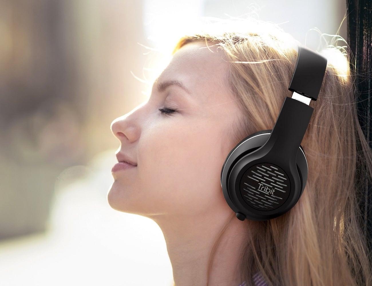 Tribit XFree Tune Over-Ear Bluetooth Headphones
