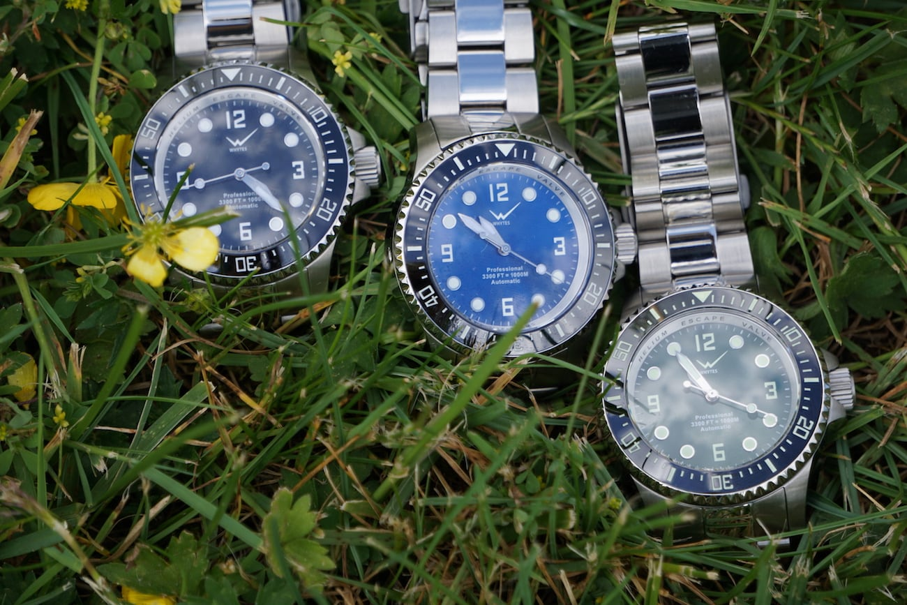 Whytes Deep Dive Automatic Diver Watches