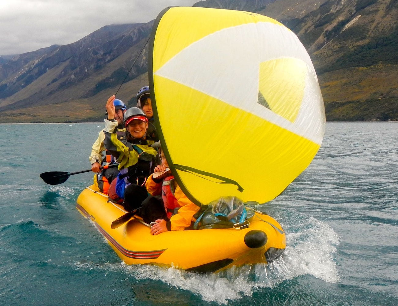 WindPaddle Cruiser Canoe Sail