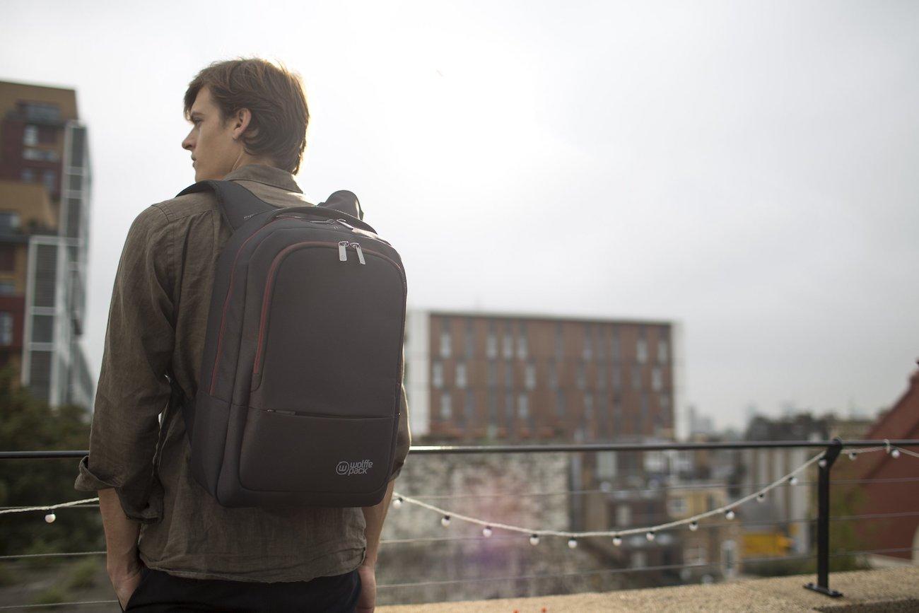 Wolffepack Metro Sleek Commuter Backpack