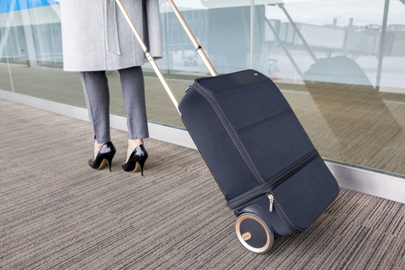 Xtend Smart Expandable Carry-On Suitcase