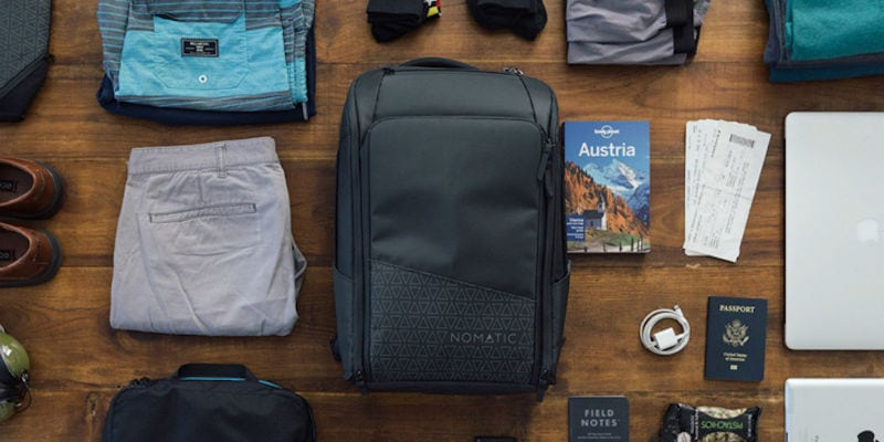 Everyday use backpack